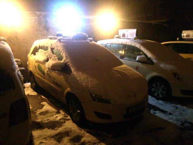 Wir hatten viel Schnee in den letzten 30 Minuten! Quelle: Sash