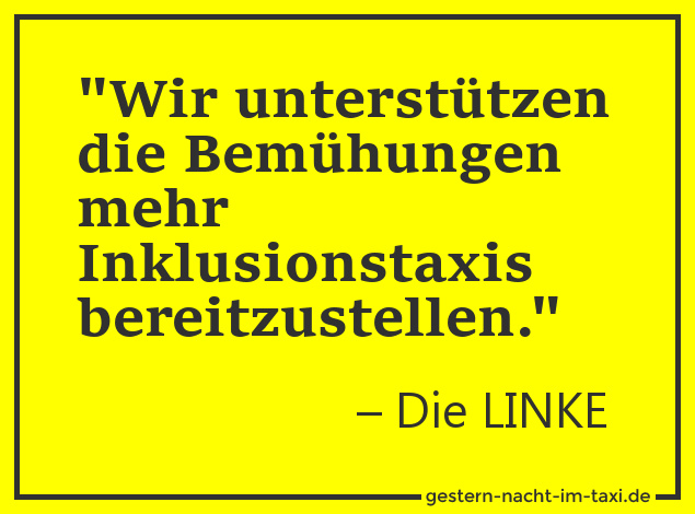 taxi-linkeinklusion
